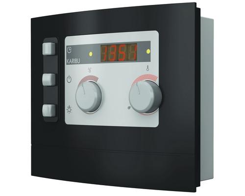 Plug & Play Biosaunaofen Karibu 3,6 kW mit ext. Steuerung