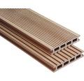 Konsta WPC Terrassendiele Futura braun gebürstet 26x145x6000 mm