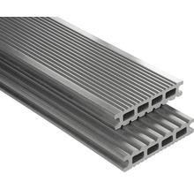 Konsta WPC Terrassendiele Futura grau glatt 26x145x3500 mm