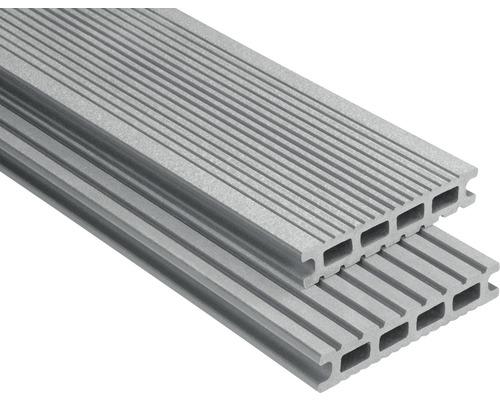 Konsta WPC Terrassendiele Futura grau gebürstet 26x145x5000 mm