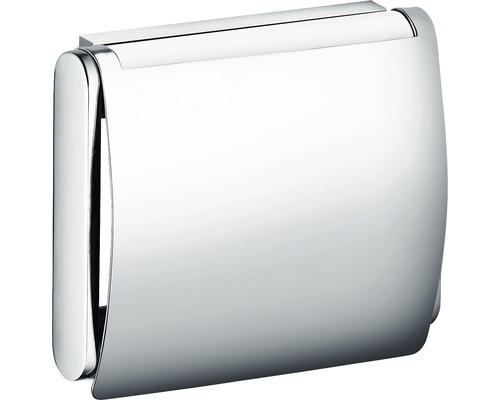 Toilettenpapierhalter KEUCO Plan mit Deckel chrom 14960