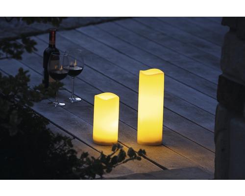 LED Kerze Außen mit Timer flackernde Kerzen flackernd Outdoor Garten Balkon 2019
