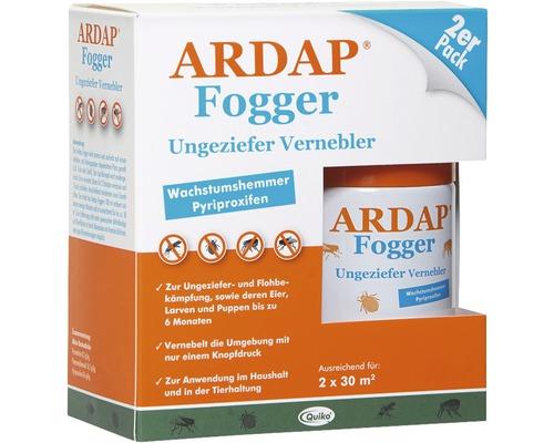 Ungezieferspray Vernebler ARDAP Fogger 2er Pack 2 x 100 ml
