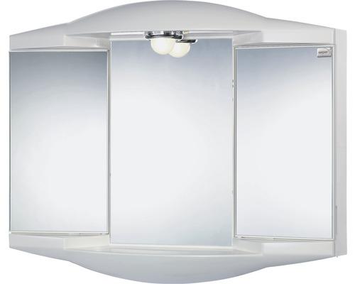 Spiegelschrank Sieper Chico GL silbermetallic 62x52 cm bei HORNBACH kaufen
