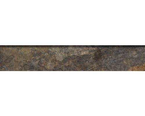 Steinzeug Sockelfliese Ardesia 8x45 cm natural