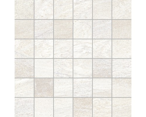 Mosaik Sahara blanco 30x30 cm