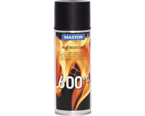 Sprühlack Maston Thermolack Hitzefest schwarz 400ml