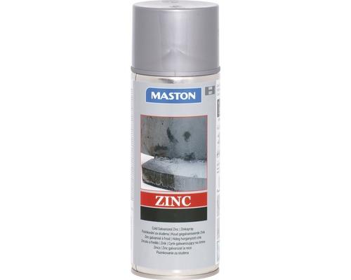 Sprühlack Maston Metallschutz Zink grau 400 ml