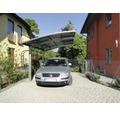 Skiatsu Aluminium-Carport doppelt eloxiert