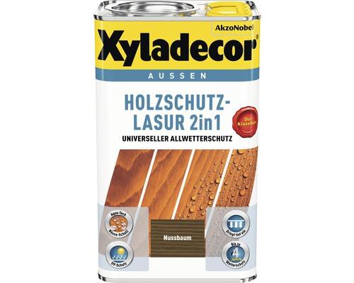 Xyladecor Holzschutzlasur nussbaum 5 l
