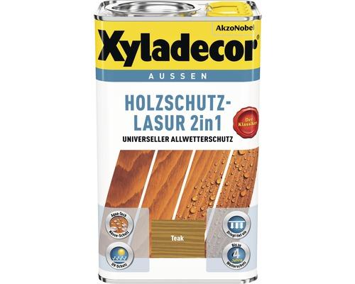 Xyladecor Holzschutzlasur teak 5 l