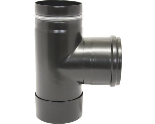 Pellet Kapselknie Ø100 mm schwarz