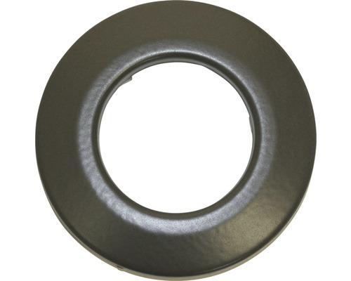 Wandrosette Pellet Ø100 mm schwarz