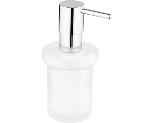Ersatzseifenspender zu GROHE Essential, Essentials Cube und Essentials Authentic 40394001 chrom/Glas