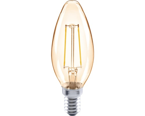 FLAIR LED Kerzenlampe E14/2W(26W) CL35C amber 180 lm 2000 K warmweiß