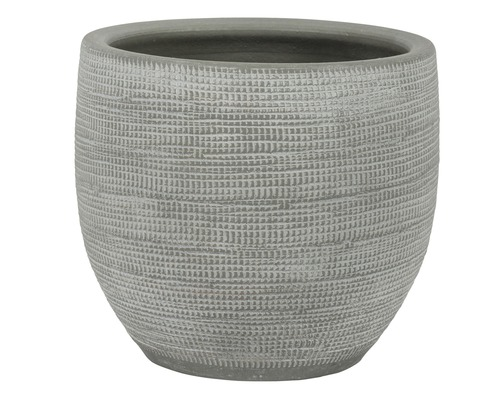 Blumentopf Le Havre Keramik Ø 39 H 35 cm grau