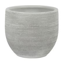 Blumentopf Le Havre Keramik Ø 39 H 35 cm weiß