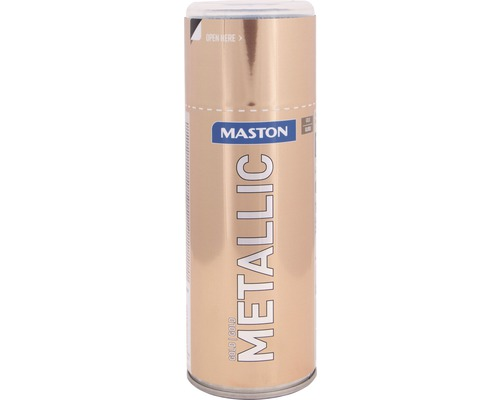 Sprühlack Maston Metallic Gold 400 ml