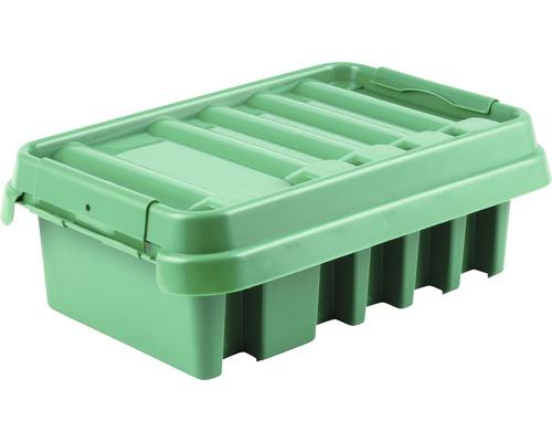 Verteilerbox 285x150x110 mm grün Heitronic