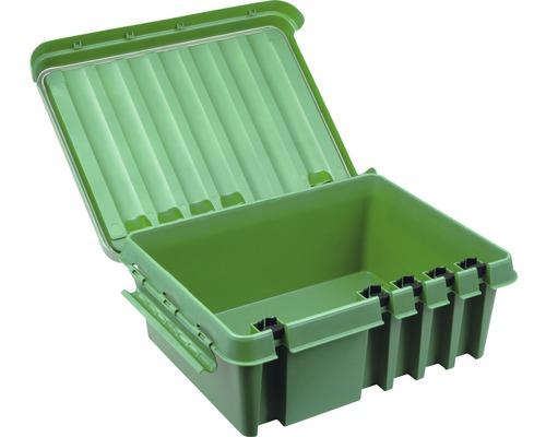 Verteilerbox 330x230x140 mm grün Heitronic