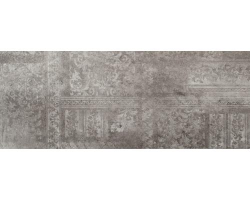 Dekorfliese Madrid Dark Grey 29,4 x 74,2cm