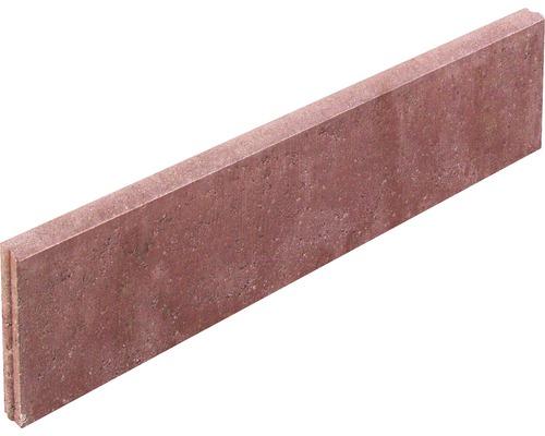 Rasenbordstein Rot 100 x 25 x 5 cm