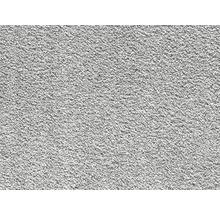 Teppichboden Kräuselvelours Santiago grau 400 cm breit (Meterware)
