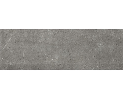 Steingut Wandfliese Bellagio Brillo Gris 30 x 90 cm