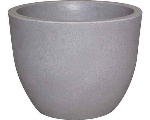 Pflanzkübel geli Rimini Kunststoff Ø 60 H 45,5 cm taupe