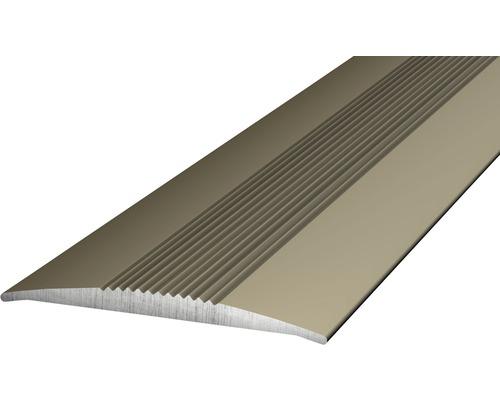 Übergangsprofil Alu edelstahl matt 37x1000 mm