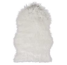 Kunstfell Schaf weiß 55x80 cm