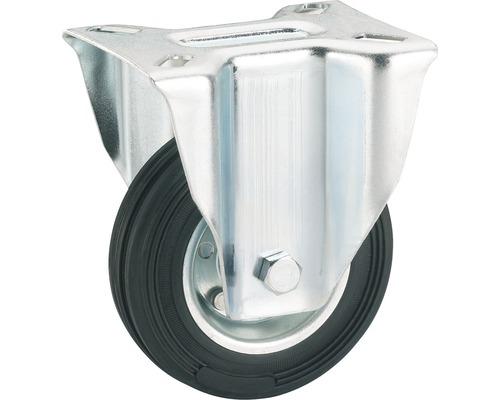 Tarrox Transport-Geräte-Bockrolle, bis 70 kg, 100 x 128 x 30 mm