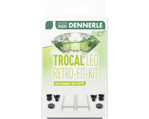 Adapter-Set DENNERLE Trocal LED Retro Fit Kit T5/T8