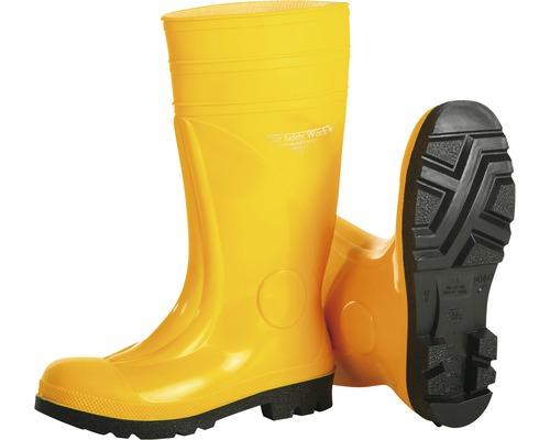 S5 Sicherheitsstiefel Safety phthalatfrei, gelb Gr. 46