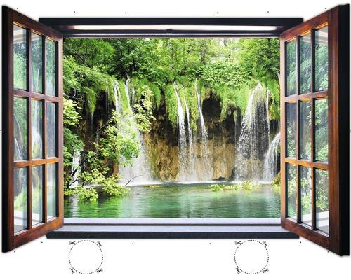Fototapete 1961vez4xl Vlies Fenster Wasserfall 201 X 145 Cm Bei Hornbach Kaufen