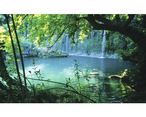 Fototapete 1783 Vexxxl Vlies See Mit Wasserfall 416 X 254 Cm Bei Hornbach Kaufen