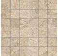 Mosaikfliese Quarzite Arena 30x30 cm