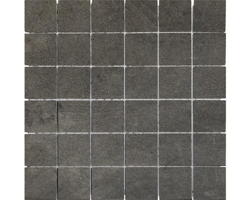 Feinsteinzeug Mosaik Modena grau 30x30 cm
