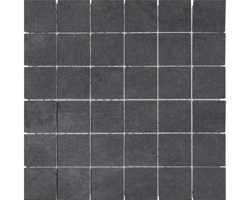 Feinsteinzeug Mosaik Modena anthrazit 30x30 cm
