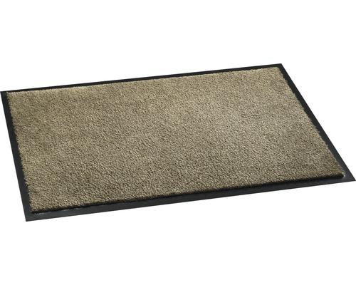 Schmutzfangmatte Soft&Clean taupe 50x75 cm