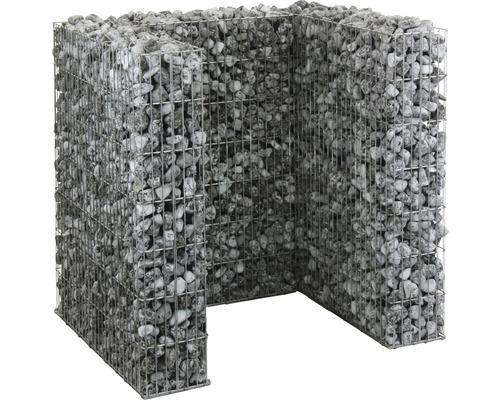 Mülltonnengabionenset bellissa für 1 Tonne 112x101,5x120 cm