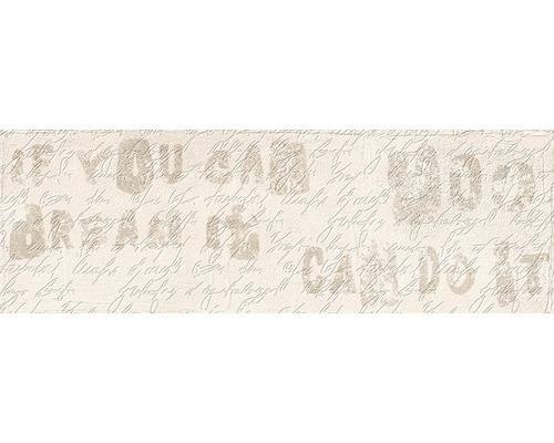 Feinsteinzeug Dekorfliese Brick beige 11 x 33,15 cm