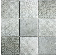 Keramikmosaik CELLO grau 30x30 cm