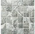 Keramikmosaik HWA 4GY grau 30x30 cm