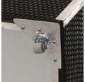 Aufbewahrungsbox Rattan 115 x 60 x 60 cm, braun