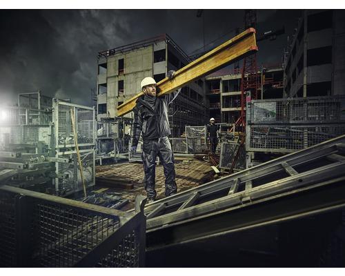 Winter Softshell Jacke Hammer Workwear schwarz/anthrazit Gr.XXL