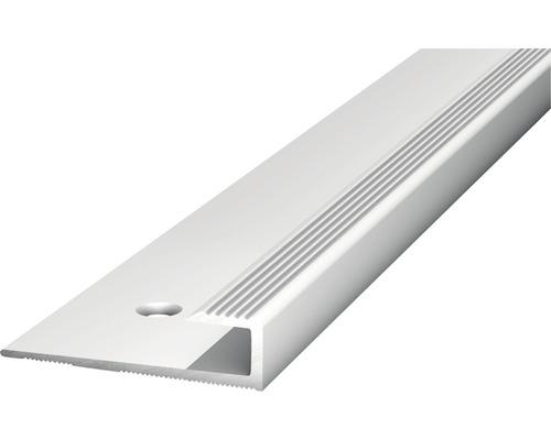 Alu Abschlussprofil silber 30x5x2500 mm