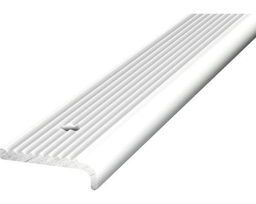 Treppenkantenprofil Alu silber 23x15x1000 mmm