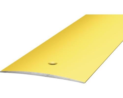 Übergangsprofil Alu gelocht gold 50x6x2700 mm