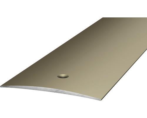 Übergangsprofil Alu gelocht edelstahl matt 50x6x2700 mm